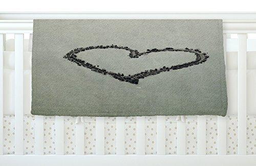 KESS InHouse Robin Dickinson I Love The Beach Ocean Sand Fleece Baby Blanket 40 x 30 [並行輸入品]   B077ZQZ9L2