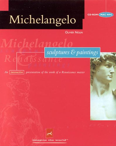 Michelangelo Sculptures and Paintings (1995 software, Windows/Mac - CD-ROM, MAC MPC)