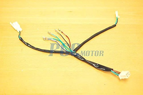 41JEMPRms3L amazon com 1z 125cc lifan engine wiring harness chinese pit dirt Wiring Harness Diagram at creativeand.co
