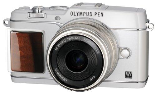 オリンパス ペンEP5 プレミアムモデル ホワイト レンズキット M.ズイコー デジタル17mm F1.8