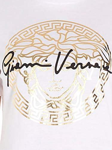 Versace Luxury Fashion Donna A85760A228806A3272 Bianco Cotone T-Shirt | Primavera-Estate 20