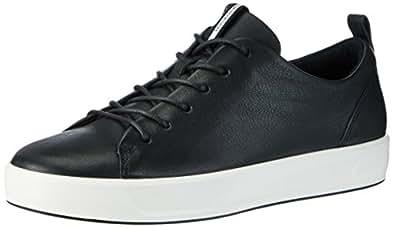 ECCO Women's Soft 8 Fashion Sneaker, Black, 40 EU/9-9.5 M US