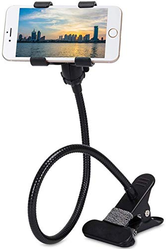 Auli Multipurpose Soft Metal Lazy Neck Mobile Holder Stand
