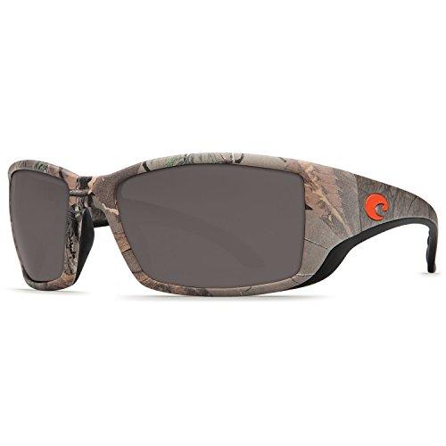 Costa Del Mar Blackfin Sunglasses, Realtree Xtra Camo, Gray 580 Plastic ()