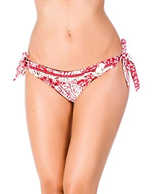 Women's Nature Walk Tie Side Hipster Bikini Bottom