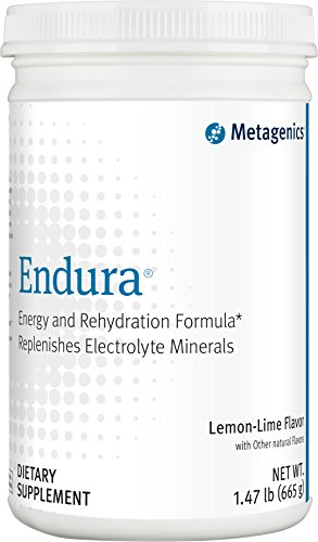 Metagenics – Endura, Lemon-Lime Flavor, 1.47 lb Powder