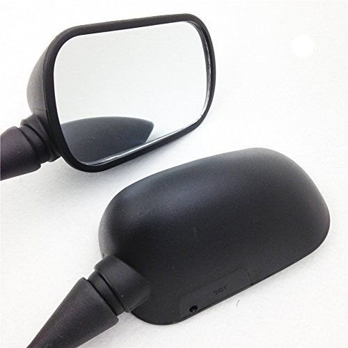 OKSTNO Black Replacement Motorcycle Mirrors Left & Right For 2001-2002 Honda CBR 600 F4 F4i