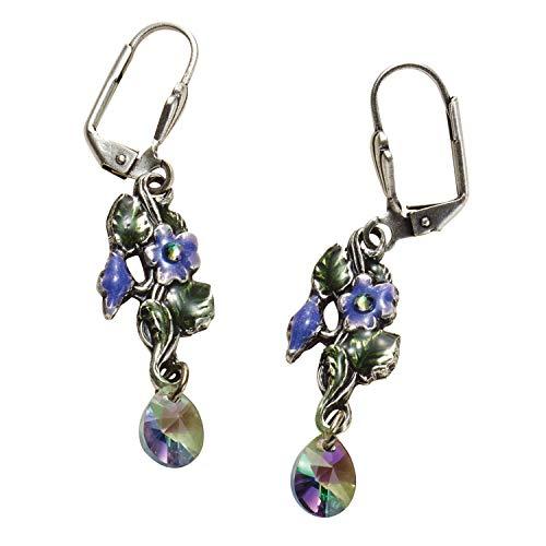 Anne Koplik Designs Women's Forget-Me-Not Floral Dangle Earrings - Pierced
