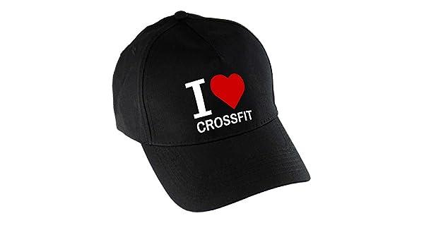 Gorra de béisbol I Love Crossfit negro: Amazon.es: Deportes y aire ...