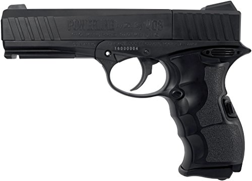 Daisy PowerLine 408 8-Shot BB or Pellet C02 Semi-Automatic Pistol ()