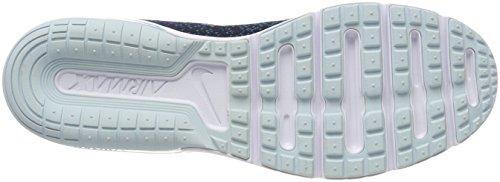 Nike Mens Air Max Sequent 2 Binära Blå / Cerulean Svart Löparsko 10,5 Män Oss
