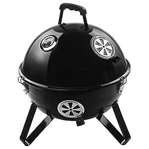 X10 Xiaoxiao BBQ Grill - Barbecue a carbonella di Spazio Grill Portatile a Carbone Grill Grande Strumento Barbecue… 1 spesavip