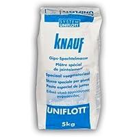 Knauf Uniflott Gips Spachtelmasse 5 kg Fugenfüller Fugenspachtel