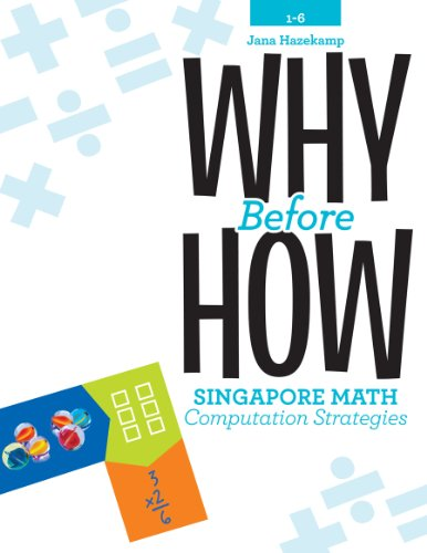 Elementary Education Math - Why Before How: Singapore Math Computation Strategies, Grades 1-6