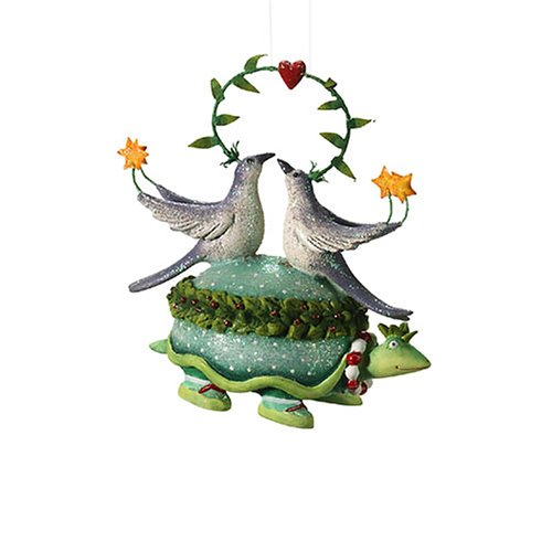 Department 56 Krinkles Twelve Days of Christmas Turtle Dove Ornament