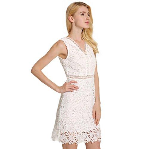 priams 7mujeres del verano cuello en V sin mangas Casual fiesta Mini vestido