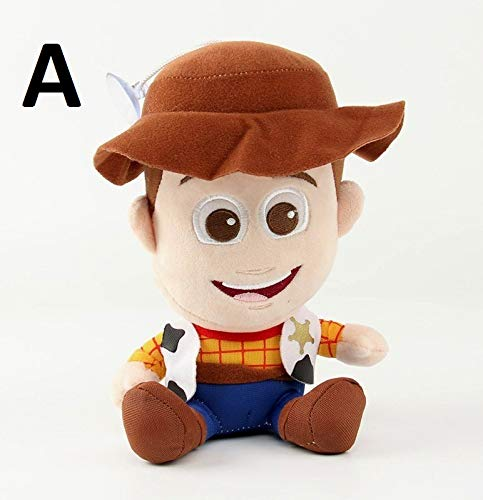 PAPWELL Buzz Lightyear Toy 7 inch Woody Toy Story Disney Pixar Big Soft Plush Toys Large Stuffed Gift Collectable Christmas Halloween Birthday Gifts Cute Doll Collectibles New Collectible for Kids (A) ()