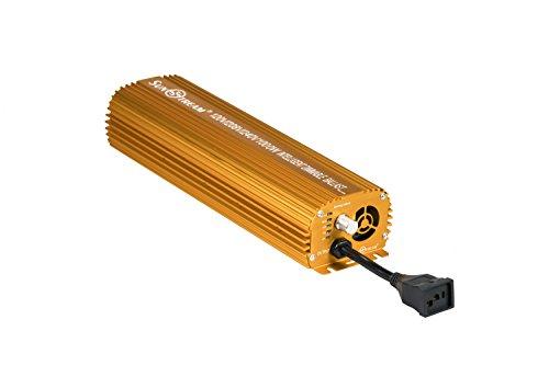 Sunstream 1000 Watt Dimmable Electronic Ballast for Grow Lights MH/HPS (Lite version) by SunStream