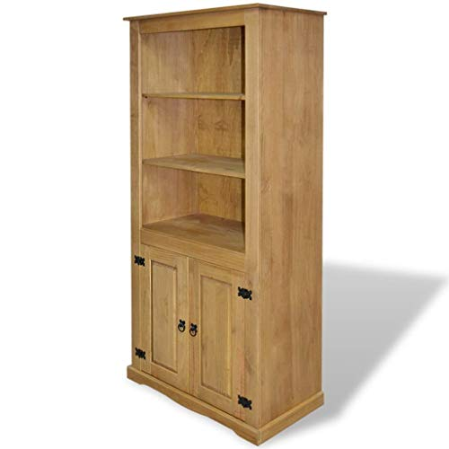 Cupboard Sideboard Bookcase Mexican Pinewood Corona Range Cabinet Highboard