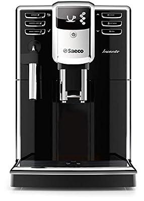 Saeco HD8911/48 Incanto Classic Milk Frother Super Automatic Espresso Machine, Black (Certified Refurbished)
