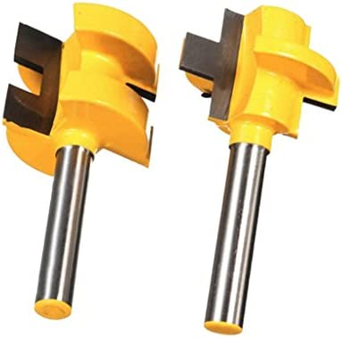 ルータービット ルーターアクセサリ 木工用カッター 切削工具 戸板彫刻 耐摩耗性 2個セット