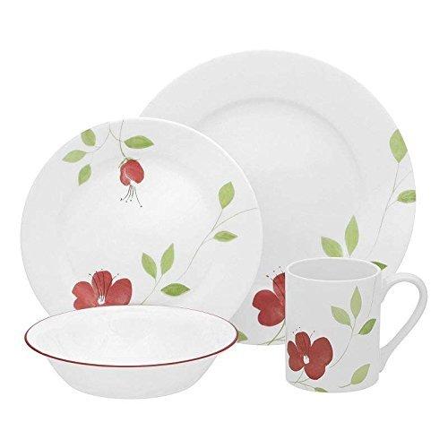 Paradise Stoneware Plates - Garden Paradise 16-pc Set