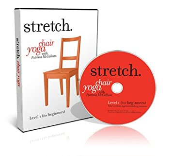 chair yoga dvd. chair yoga with patricia mccallum - (5 dvd set) including the levels dvd