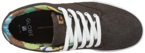 Globe Lighthouse Slim - Zapatillas de Skateboarding de cuero nobuck hombre marrón - Marron (17244)
