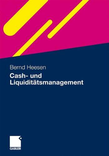 Cash- und Liquiditätsmanagement (German Edition)