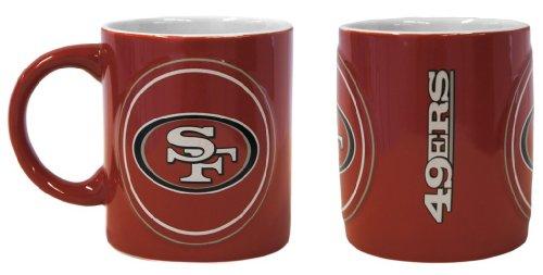 San Francisco 49ers Sculpted Warm Up Coffee Mug (49ers San Francisco Mug)