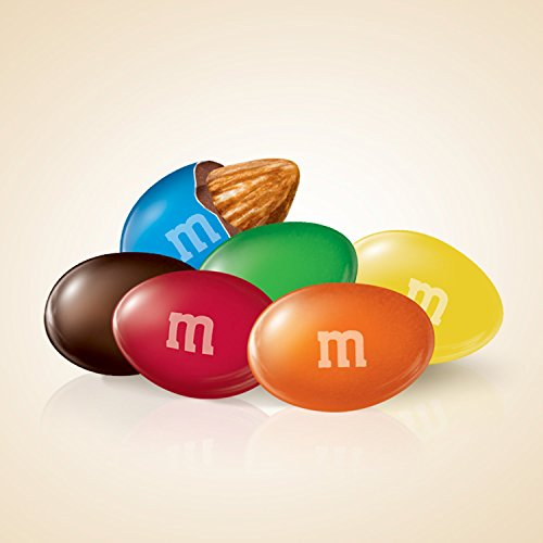 M&M'S Almond Chocolate Candy Sharing Size 9.3-Ounce Bag (Pack of 8) by M&M'S (Image #1)