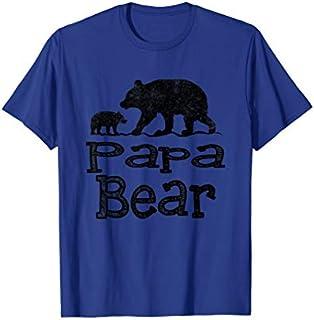 ⭐️⭐️⭐️ Papa Bear Father's Day  Funny Papa Tee Need Funny Short/Long Sleeve Shirt/Hoodie