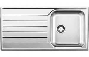 BLANCO LIVIT 45 S SALTO - Fregadero (Acero inoxidable, 340 x 420 mm)