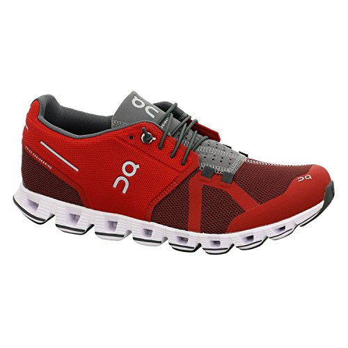 On Running Cloud Men's Shoes Red/Ox (9.5) by On Running