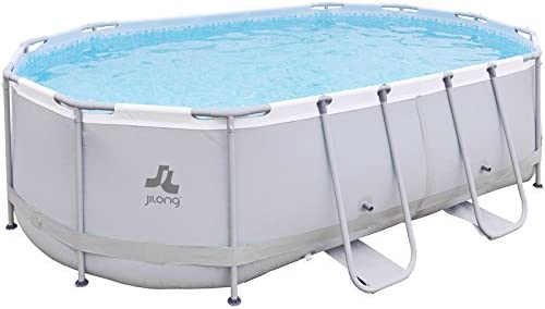 Piscina Desmontable 427X275X100 cm. JILONG 17727-1EU: Amazon.es ...