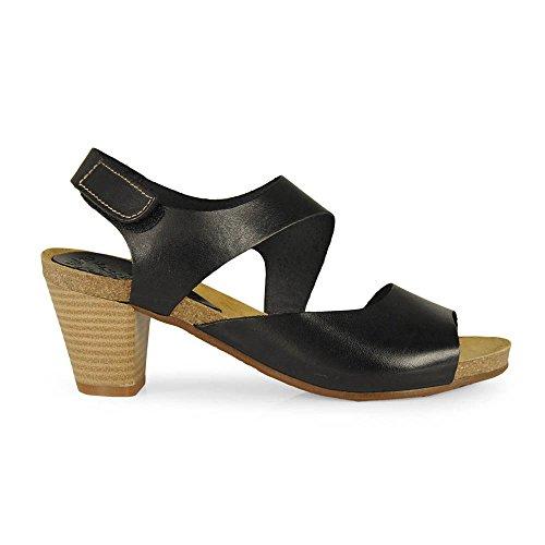 Dimo - Sandalia Bio Velcro Negro