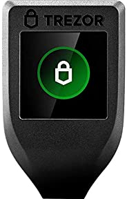 Trezor Model T - Next Generation Crypto Hardware Wallet with LCD Color Touchscreen and USB-C, Store your Bitco