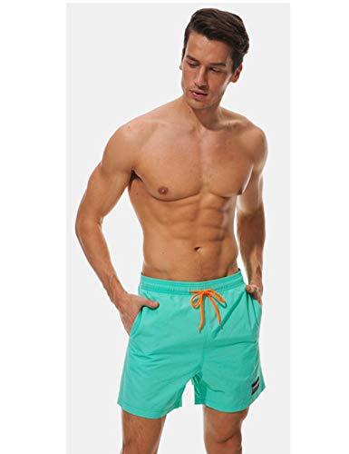 Boxershorts per Costume Pantaloncini Coulisse Mutande Con Nuoto Sport Calzoncini Da Piscina Elastico Chiaro Spiaggia Blu Mare E Taschino Bagno Sisaki Slip Uomo 5SxqwTvSX