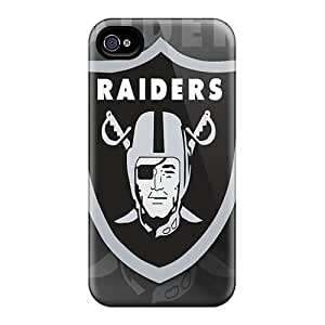 Cases Covers For Iphone 6plus Strong Protect Cases - Oakland Raiders Hd Design