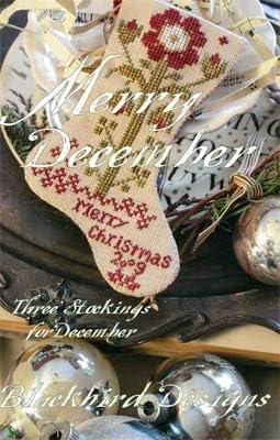 Merry December Cross Stitch Chart