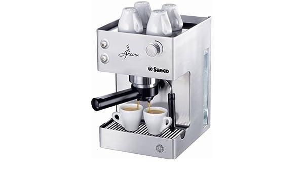 Saeco Aroma Stainless Steel, Plata, 203 x 254 x 298 mm, 5851 g, Metal - Máquina de café: Amazon.es: Hogar