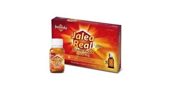 Amazon.com: Juanola Jalea Real Plus Energy 1500 mg 14 viales by ANGELINI: Health & Personal Care
