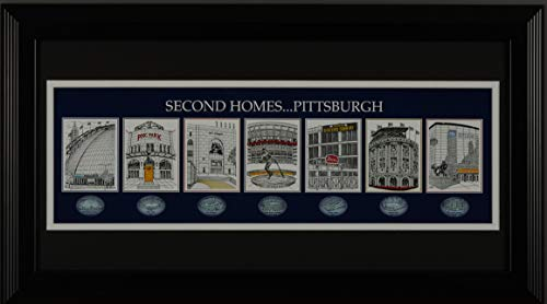 The Greatest-Scapes Second Homes ... Pittsburgh Framed and Matted Venues Print