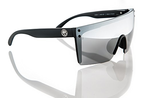 Heat Wave Visual Lazer Face Sunglasses in Silver - Safety Sunglasses Z87