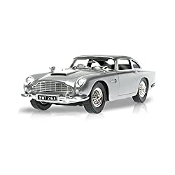 Hot Wheels Collector James Bond Goldfinger Aston Martin Db5 Die-cast Vehicle (1:18 Scale)