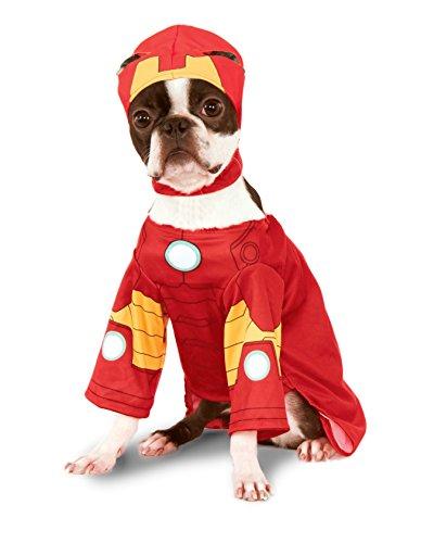 [Rubies Costume Company Marvel Classic/Marvel Universe Iron Man Pet Costume, Medium] (Iron Man Cat Costume)