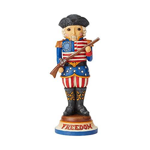 - Enesco Jim Shore Heartwood Creek American Nutcracker Figurine