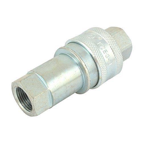 Rapido Couplers - eDealMax a14040200ux0190 remplacement KZE 8/3 3/8 PT 16 mm filetage de tuyau de déconnexion Rapide Coupler, métal, 0,67