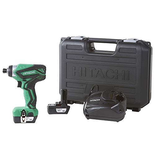 Hitachi WH10DFL2 12V Peak Cordless Lithium-Ion 1/4 in. Hex Impact Driver (Certified Refurbished)