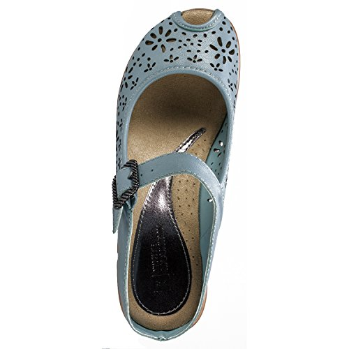 Light Blue WHITE 'Miso' Mule Women's MOUNTAIN Leather XUq6F